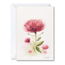 Garry The Pohutukawa Greeting Card-gift-cards-and-tags-The Vault