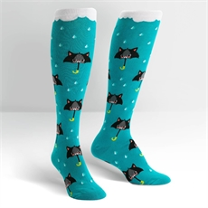 Female Knee High 50% Chance of Cats-clothing-and-accessories-The Vault