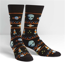 Men's Crew Socks Alien Sweater-man-The Vault