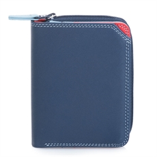 Small Wallet w Zip Purse Royal-for-her-The Vault