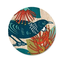 Screenprint Tui Coaster Single-house-The Vault