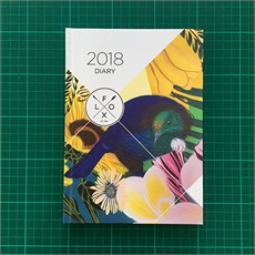 FLOX 2018 A5 Hard Back Diary-view-all-under-$50-The Vault