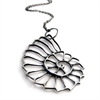 Nautilus Necklace - Silver-new-The Vault