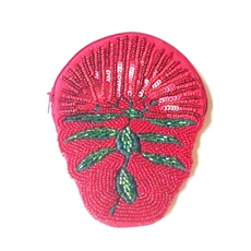 Shaped Coin Purse Pohutukawa-kiwiana-The Vault