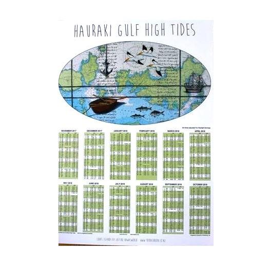 Hauraki Tide Chart Nz