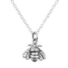 Bee Pollination Necklace-necklaces-The Vault