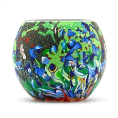 Tealight Holder Med Van Gogh Irises-house-The Vault