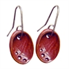 Baby Paua Small Earrings Copper-jewellery-The Vault