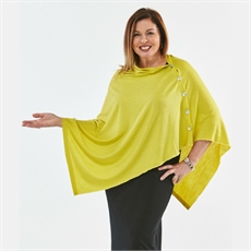 OBR Merino Button Wrap Lemoncello-clothing-and-accessories-The Vault
