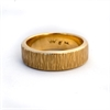 Ring 9ctYellowGold Band Fineline Finish -jewellery-The Vault