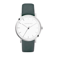Hera Watch with Grey Leather Strap-clothing-and-accessories-The Vault