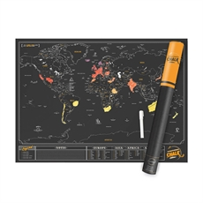 Scratch Map Chalk Edition-man-The Vault