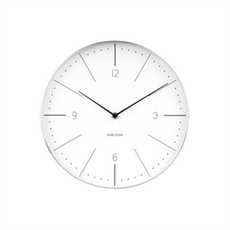 Karlsson Normann Numbers Clock White-house-The Vault