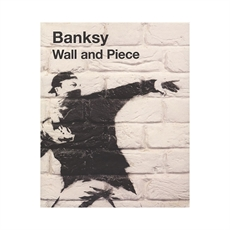 Banksy Wall and Piece Book -house-The Vault