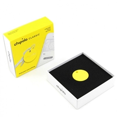 Chipolo Classic Key Finder Yellow -clothing-and-accessories-The Vault