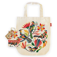 Tote Bag Colourful Birds-kiwiana-The Vault
