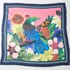 Flox Tui Message Silk Scarf-for-her-The Vault