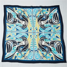 Shane Hansen Tui Silk Scarf-clothing-and-accessories-The Vault