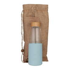 Sol Bottle / Pouch & Brush Cool Cyan-table-and-kitchen-The Vault