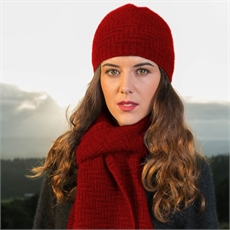 Herringbone Beanie Rata-for-her-The Vault