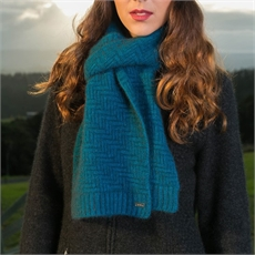 Herringbone Scarf Pacific-for-her-The Vault