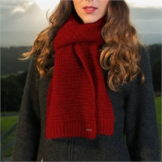 Herringbone Scarf Rata -for-her-The Vault