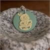 Tiki Circle Teal Duck Necklace-jewellery-The Vault