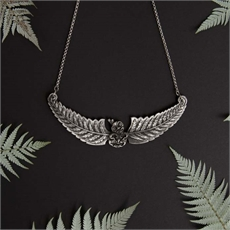 Flying Tiki Collar Antique-jewellery-The Vault