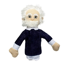 Albert Einstein Magnetic Finger Puppet-under-$50-The Vault