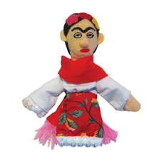 Frida Kahlo Magnetic Finger Puppet-under-$50-The Vault