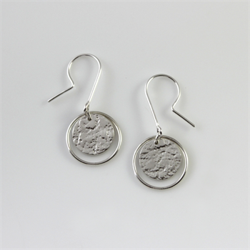 Roundabout Earrings Sterling Silver