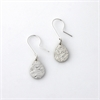 Teardrop Earrings Sterling Silver-jewellery-The Vault