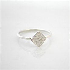 Piece Ring Sterling Silver-jewellery-The Vault