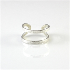 Wrap Ring Sterling Silver-jewellery-The Vault