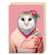 Gift Card Blank Barn Owl-cards-The Vault