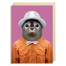 Gift Card Blank Harbour Seal -cards-The Vault