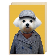 Gift Card Blank Maltese Dog -cards-The Vault