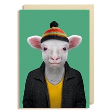 Gift Card Blank Lamb -cards-The Vault