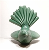 Ceramic Fantail Wall Art Emerald Green-home-and-wedding--The Vault