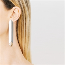 Te Huia Earrings Silver-jewellery-The Vault