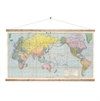 World Map Wall Chart-home-The Vault