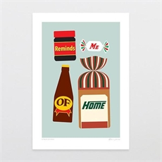 A Taste of Kiwi A4 Print-artists-and-brands-The Vault