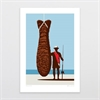 Prize Catch A4 Print-home-The Vault
