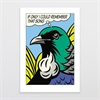 Urban Tui A4 Print-home-The Vault
