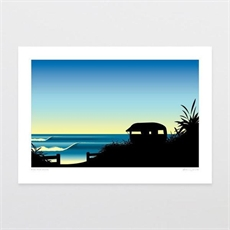 Rise and Shine A3 Print-home-The Vault