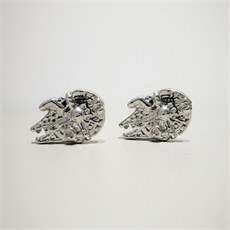 Star Wars Millennium Ship Cufflinks-for-him-The Vault