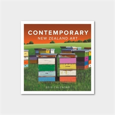 Contemporary NZ Art 2019 Calendar -new-The Vault