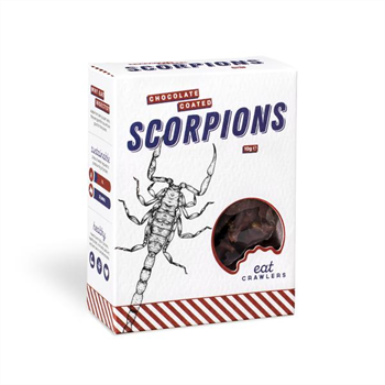 Chocolate Coated Scorpions 10g Box