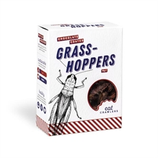 Chocolate Coated Grasshoppers 10g Box-new-The Vault