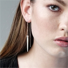 Slipstream Earrings MOP-jewellery-The Vault